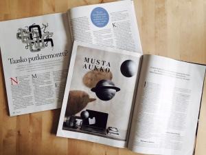 Divaani 2/2015 (vas.) ja Trendi 5/2015.