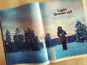 Elämänmuutostarina Inarista Voi Hyvin -lehdessä 2/2015.